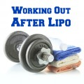 working out after lipo