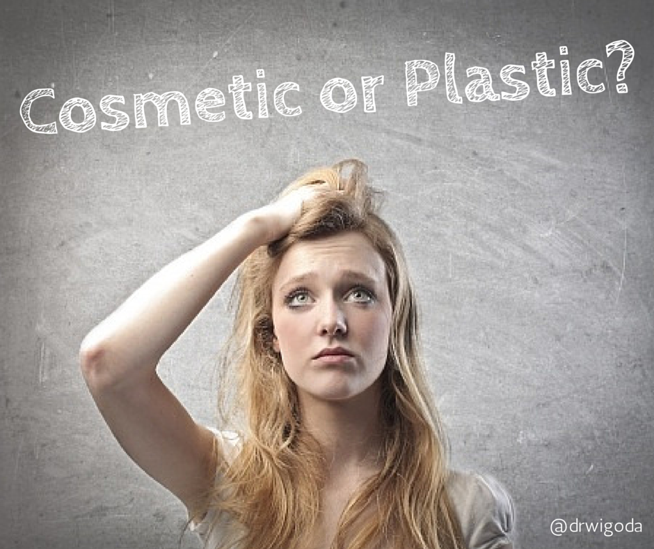 cosmetic or plastic surgeons?