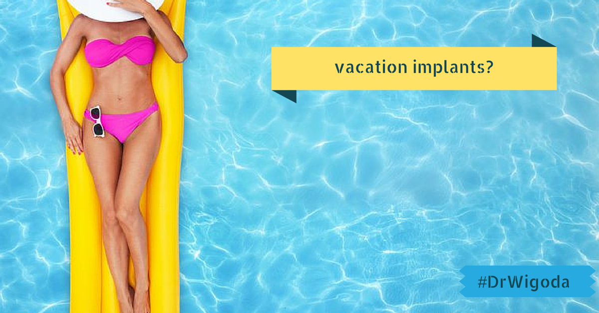 vacation breast implants