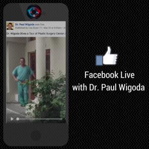 Facebook Live Miami Plastic Surgeon Dr. Wigoda