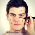 Top 5 Plastic surgery for men